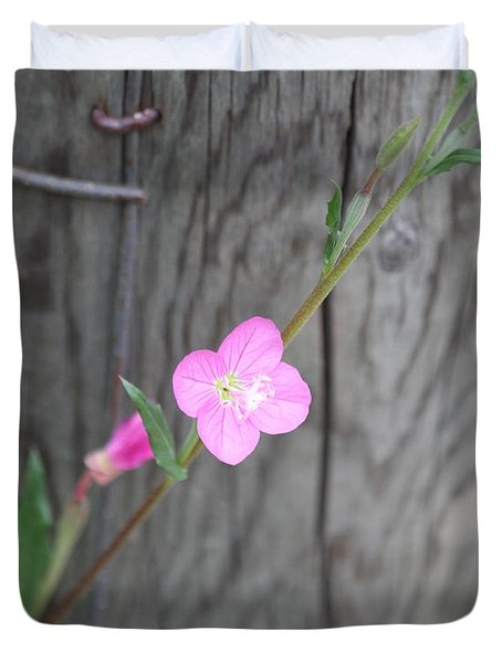 Country Flower  Duvet Cover by Amy Gallagher