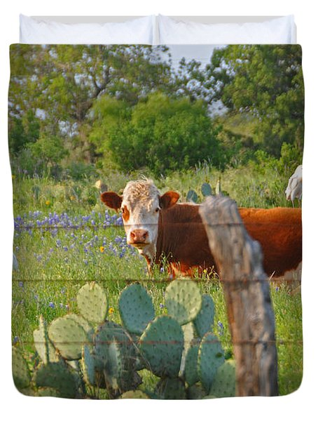 Country Friends Duvet Cover