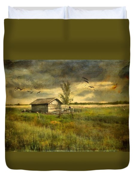 Country Life Duvet Cover by Annie Snel