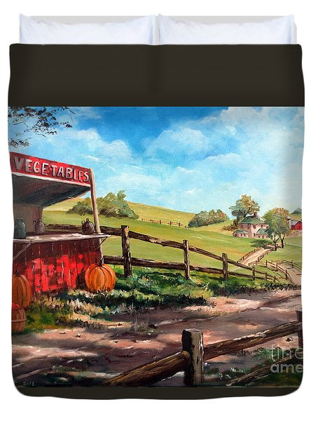 Country Life Duvet Cover by Lee Piper