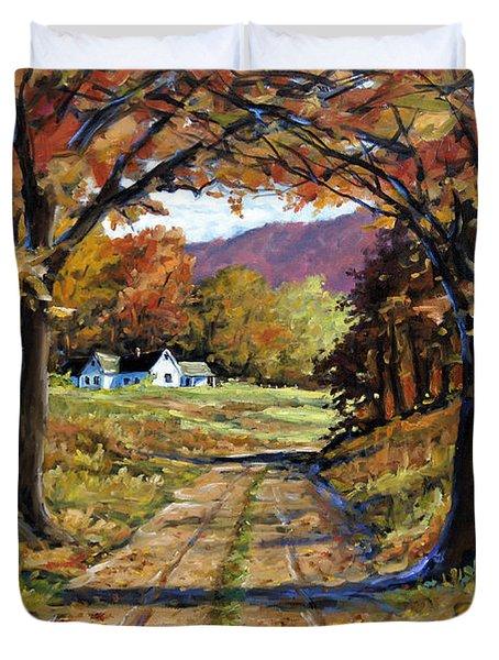 Country Livin  Duvet Cover