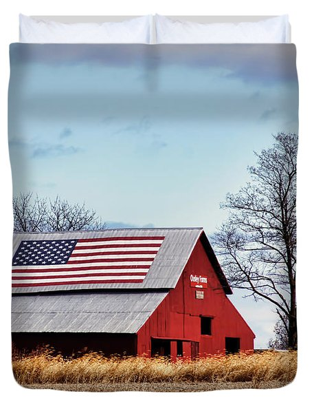 Country Pride Duvet Cover by Cricket Hackmann