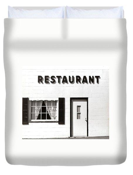 Country Restaurant Duvet Cover