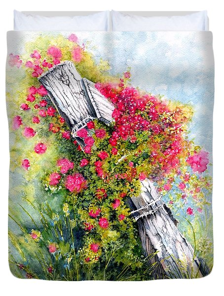 Country Rose Duvet Cover