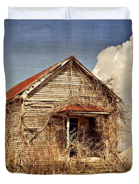Country Schoolhouse  Duvet Cover by Marty Koch