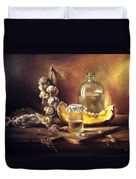 Countryside Still Life 2 Duvet Cover