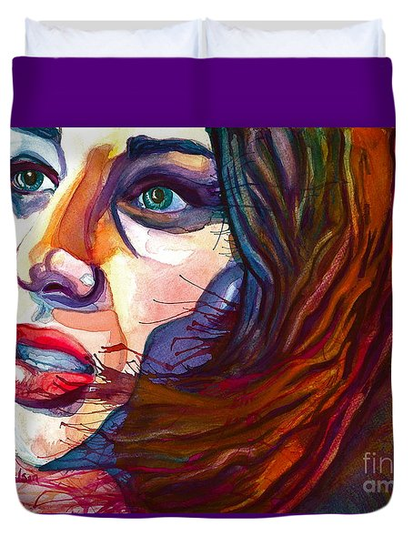 Courage Duvet Cover