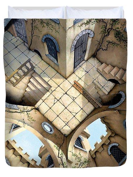 Courtyard Duvet Cover