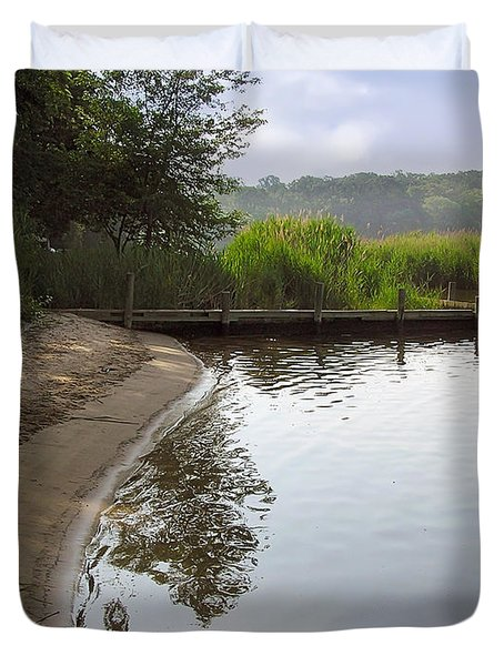 Cove Duvet Cover by Brian Wallace
