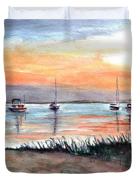 Cove Sunrise Duvet Cover