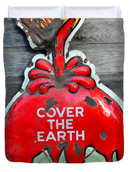 Cover The Earth Duvet Cover