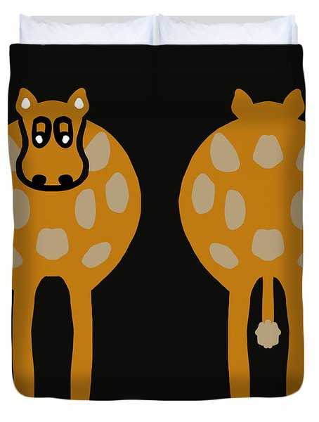 Cow - Both Ends Duvet Cover