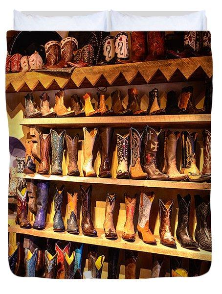 Cowboy Boots Duvet Cover