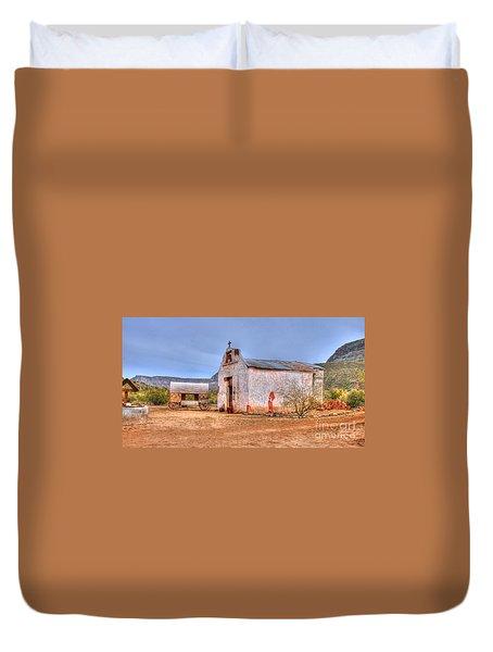 Cowboy Church Duvet Cover
