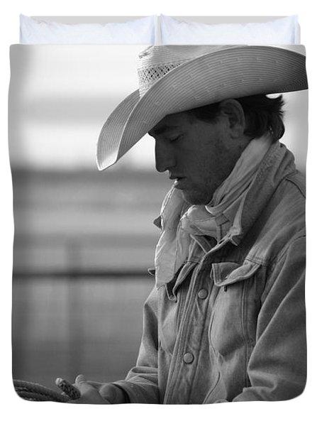 Cowboy Signature 10 Duvet Cover