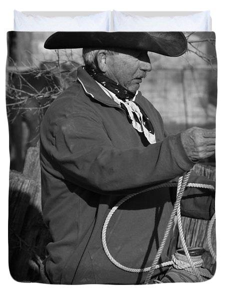 Cowboy Signature 14 Duvet Cover