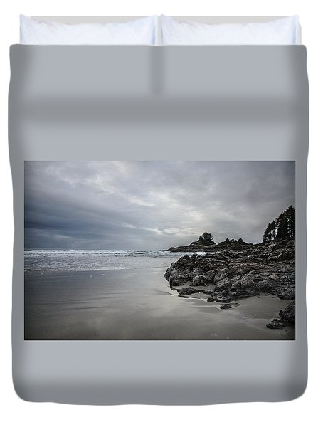 Cox Bay Afternoon  Duvet Cover by Roxy Hurtubise