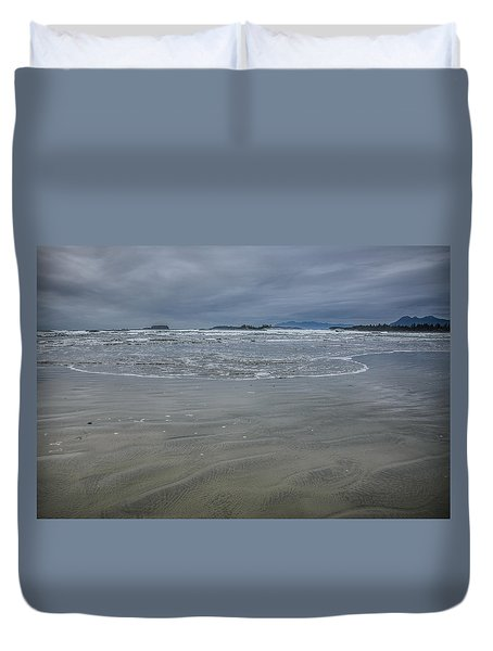 Cox Bay Late Afternoon  Duvet Cover by Roxy Hurtubise
