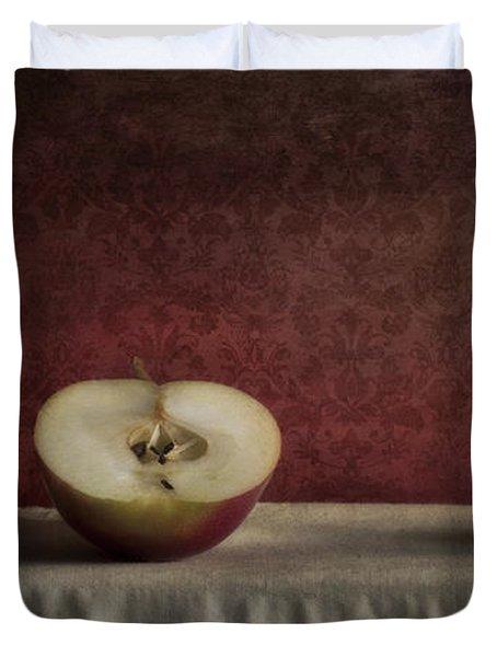 Cox Orange Apples Duvet Cover by Priska Wettstein