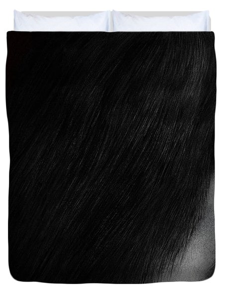 Coy Duvet Cover by Pat Erickson