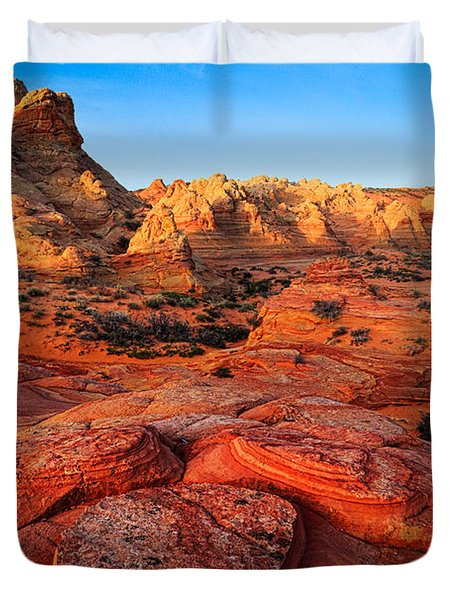 Coyote Buttes Duvet Cover