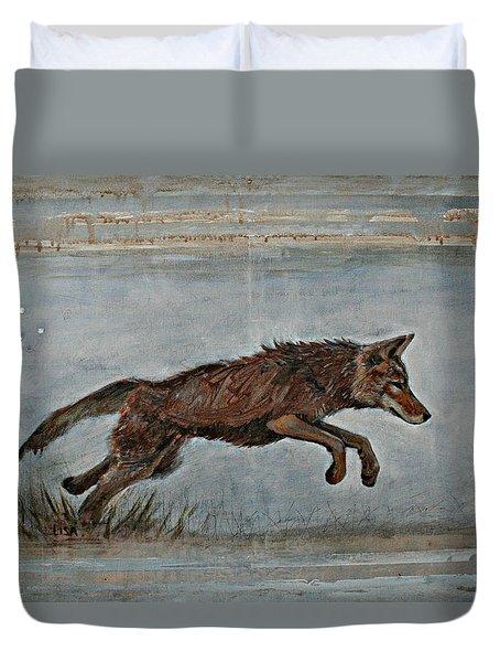 Coyote Ll Duvet Cover
