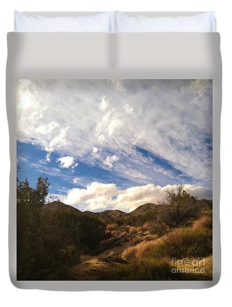 Coyote Wash Dressed Up Duvet Cover