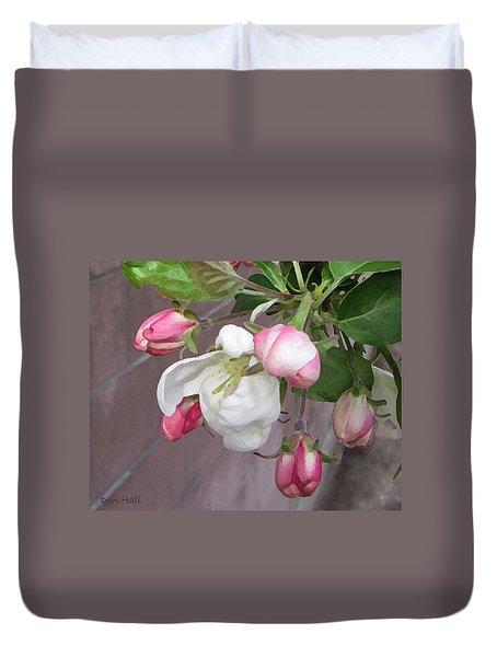 Crabapple Blossoms Miniature Duvet Cover
