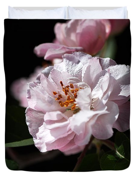 Crabapple Flowers Duvet Cover