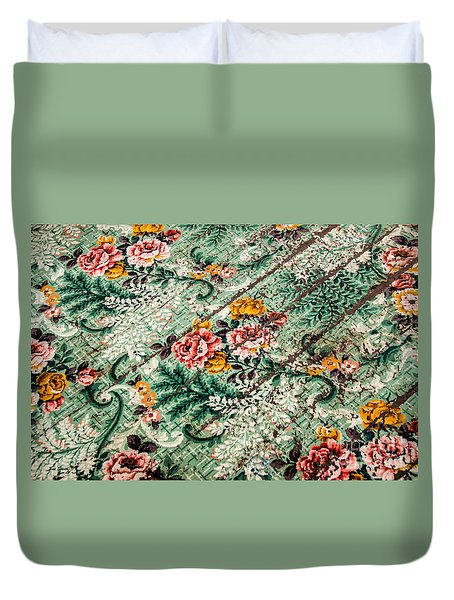 Cracked Linoleum Duvet Cover
