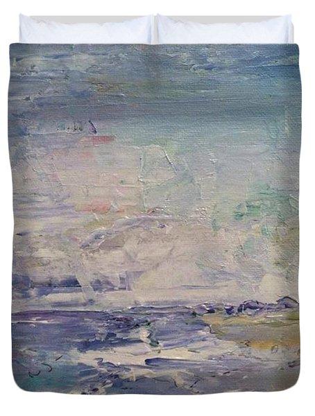 Cranes Beach  Duvet Cover