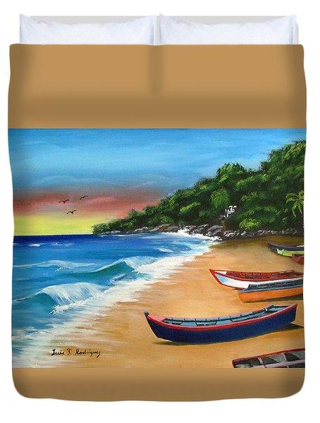 Crashboat Beach Wonder Duvet Cover