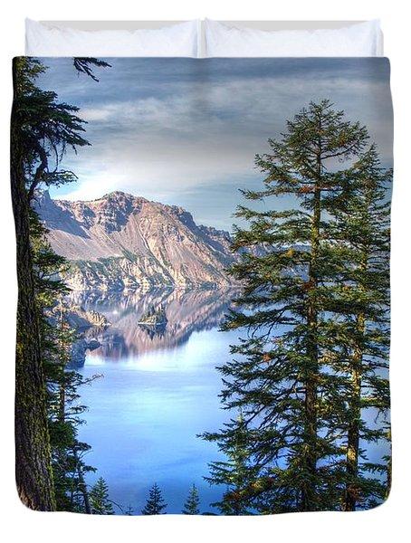 Crater Lake 1 Duvet Cover