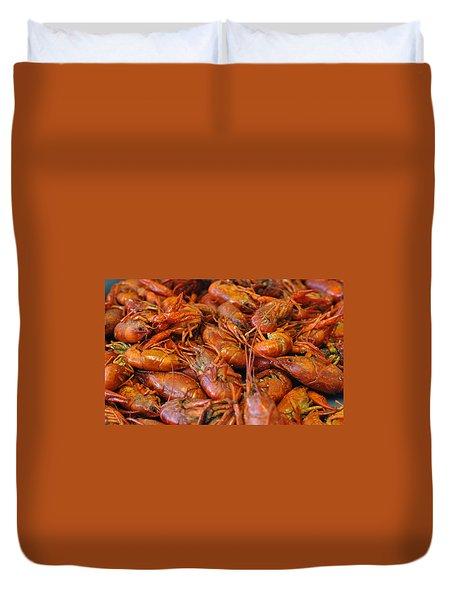 Crawfish Boil Duvet Cover