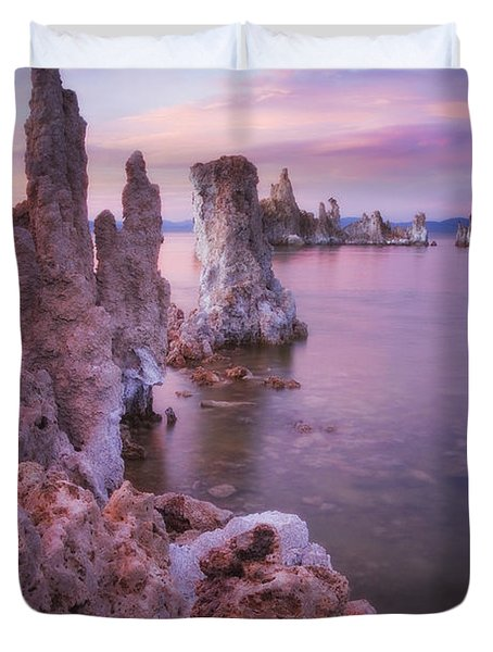 Crayola Funhouse Duvet Cover by Peter Coskun