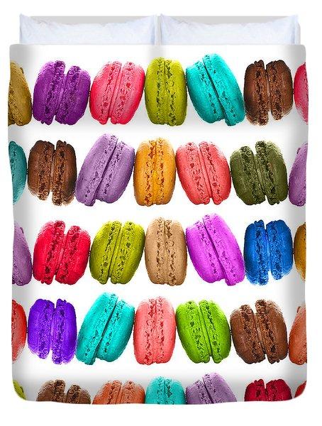 Crazy Macarons  Duvet Cover