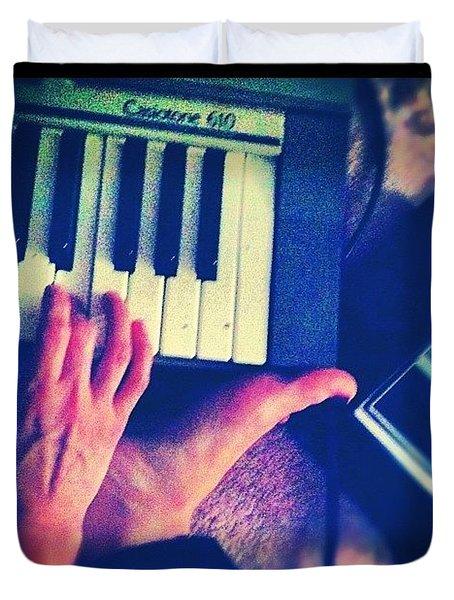 Musical Mornings Duvet Cover