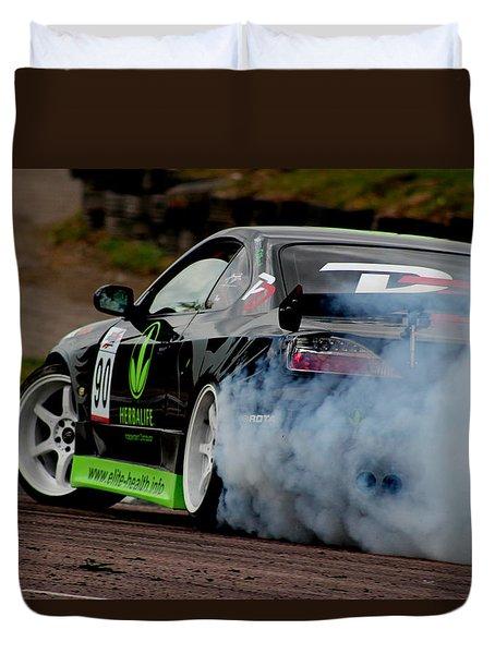 Creating Smoke Duvet Cover