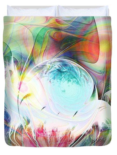 Creation Duvet Cover by Anastasiya Malakhova