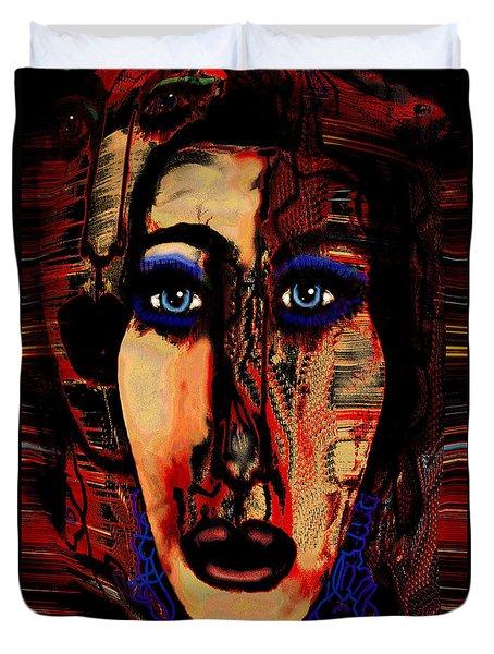 Creative Artist Duvet Cover by Natalie Holland
