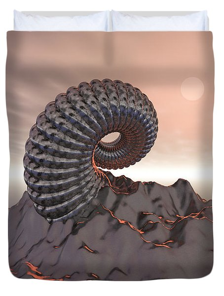 Creature Of The Mountain Duvet Cover by Phil Perkins