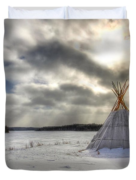 Cree Tepee Duvet Cover