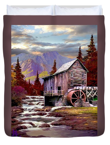 Creekside Mill Duvet Cover