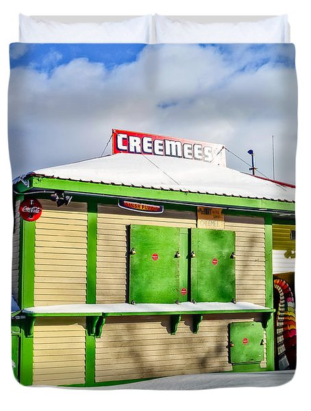 Creemees Duvet Cover by Edward Fielding