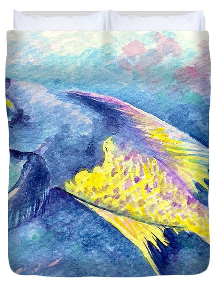 Creole Wrasse Duvet Cover