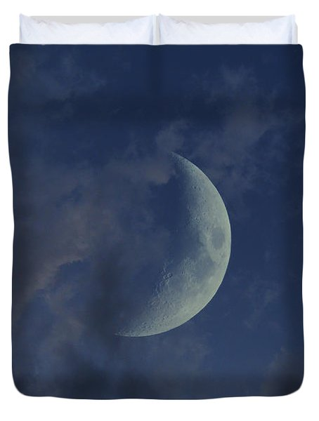 Crescent Moon Duvet Cover