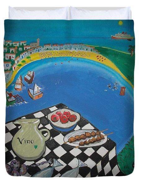 Crete Duvet Cover