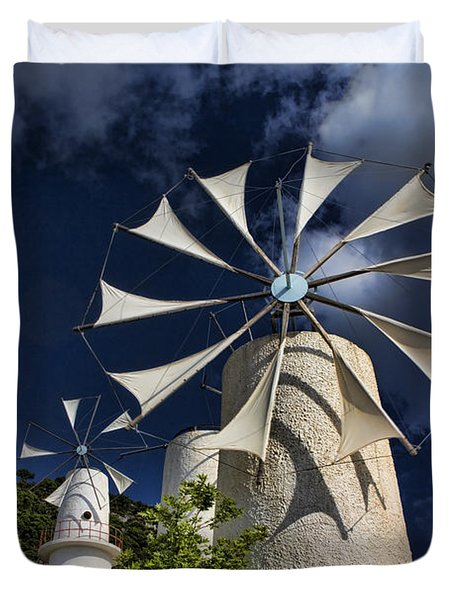 Creton Windmills Duvet Cover