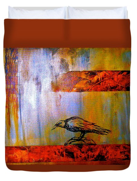 Cria Cuervos Duvet Cover by Thelma Zambrano
