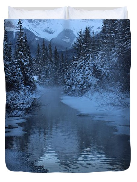 Duvet Cover featuring the photograph Crisp by Ramona Johnston